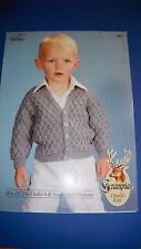 Hayfield Children'S Cardigan Knitting Pattern 2451