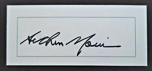 AUSTRALIA TO ENGLAND 1948 'THE INVINCIBLES' ARTHUR MORRIS ORIGINAL AUTOGRAPH