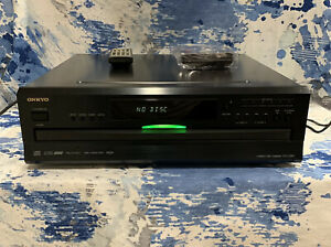ONKYO DX-C390 6-Disc CD Compact Disc Changer w/ Compatible Remote -Working
