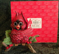 """Sonshine Promises Cardinal 3002/L """"BLESSED ARE THE SPIRITED"""" 6"""" Tall  (971/5000)"""
