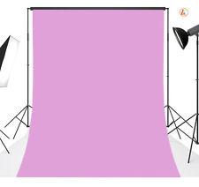 vinyl photography Background Backdrop studio photo Plain Light Pink 5X7FT 20
