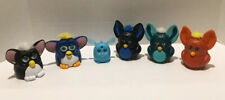 Furby's McDonald's Happy Meal Burger King Toys Plastic Lot of 6 From 1998 & 2005