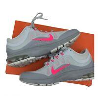 Nike Air Max Dynasty 2 Trainers - 859577-001 - Platinum Grey / Pink - Uk 5