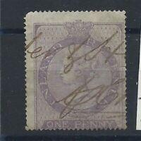 Grande Bretagne Timbre Fiscaux Postaux N°1 Obl (FU) 1862