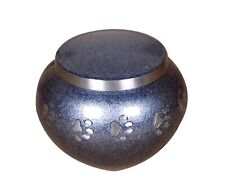 Pet Cremation Urn For Ashes Funeral Memorial Dog Cat Ashes Urn Grey Round 2 Size