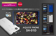DOCOMO SHARP SH-01D 12.1MP FULL HD 3D UNLOCKED BLACK ANDROID SMARTPHONE SH-06D