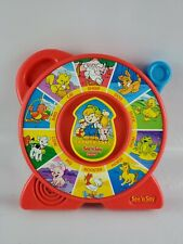 Vintage Fisher Price See'n Say The Farmer Says Animal Sounds Red