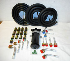 Air Conditioning Hose Kit,Barbed O Ring Fittings,Drier/Switch,Spe cial,W #12 Ftgs