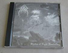 EVOKEN - Shades of Night Descending CD 1994 Funereus Productions US Rare OOOP