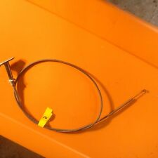 Studebaker heat control cable, with handle,  no PN.   Item:  9458
