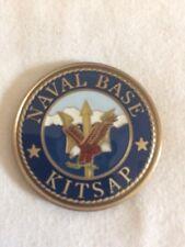 Naval Base Kitsap Commander Navy Challenge Coin E11