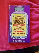 BETTER THAN ASPIRIN BOOK MERRILL HARMIN