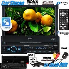 "NEW BOSS Audio 7"" Bluetooth In-Dash Touchscreen DVD Car Stereo Radio+Rear Camera"