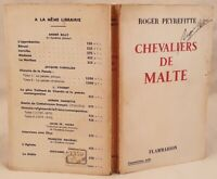 ROGER PEYREFITTE CHEVALIERS DE MALTE PRIMA EDIZIONE CAVALIERI DI MALTA 1957