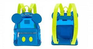 Loungefly Disney Mickey Mouse Neon Summer Mini Back Pack BNWT