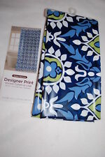 """Shower Curtain or Liner GYPSY DAMASK BOHO BOHEMIAN Blue Green White 72"""" x 70"""""""