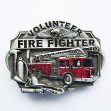 Volunteer Fire Fighter FD Metal Belt Buckle