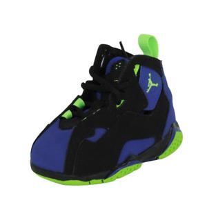 Nike Air Jordan True Flight BT Toddlers Shoes Size 4 C Black Sneakers 343797 022