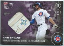 2016 Topps Now Kris Bryant #370D Relic Game Used Base #14/25