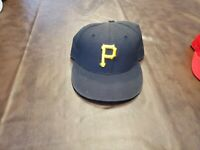 PITTSBURGH PIRATES BASEBALL HAT Black Cap -FREE SHIPPING