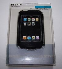 BELKIN- IPod TOUCH Black Leather Form Fitted Case 8GB 16GB 32GB
