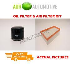 DIESEL SERVICE KIT OIL AIR FILTER FOR RENAULT KANGOO 1.5 103 BHP 2008-