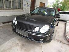 Mercedes E-Class W211 2002-2006 CUSTOM CAR HOOD BONNET BRA MASK BRA DE CAPOT