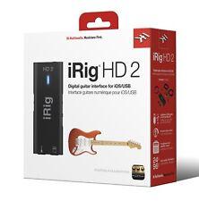 IK Multimedia iRig 2 HD Guitar Interface to Record on iPhone, iOS, Mac, PC