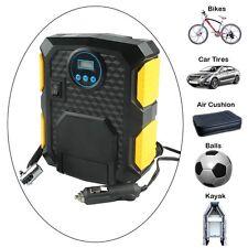 12V Portable Digital DC Electric  Air Compressor 250PSI Car Tyre  Inflator Pump