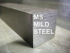 """MS MILD STEEL 1 x 1 x 12"""" FLAT BAR STOCK FOR CNC MILL MILLING MACHINE SHOP"""