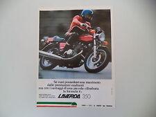 advertising Pubblicità 1977 MOTO LAVERDA FORMULA 350
