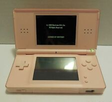 Nintendo DS Lite Candy Pink Handheld System with 2 x Games Cartridges