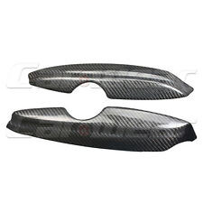 Carbon Fiber Front Headlight Cover Eyelid Eyebrow for VW Golf  MK4 IV 97-04
