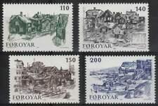 Faeroer/Faroer postfris 1981 MNH 59-62 - Oud-Torshavn