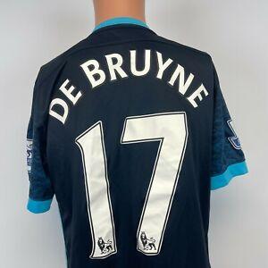 Nike Kevin De Bruyne Manchester City Dri Fit Soccer Jersey 2015 Football Kit M