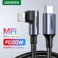 Ugreen MFi USB C to Lightning Cable 3A PD 20W Fast Charging for iPhone 12 Pro 11