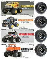 truck tires for TAMIYA QRV Monster Beetl /CW-01 Lunch box /WR-02 /GF-01/G6-01