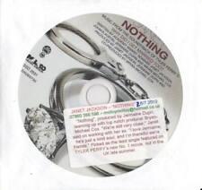 Janet Jackson MINT 1trk PROMO CD Nothing