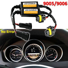 9005 HB3 LED Headlight Canbus Error Anti Flicker Resistor Canceller DecoderPLCA