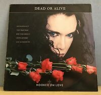"""DEAD OR ALIVE Hooked On Love 1987 12"""" Vinyl Single EXCELLENT CONDITION"""