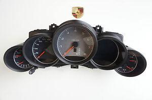 Porsche 958 Cayenne USA UK Instrument Cluster Tachometer Silver