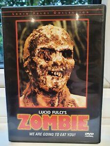 ZOMBIE-(DVD)-ZOMBIE FLESH EATERS /Horror/Gore/Uncut. (USA Region 1) Lucio Fulci.