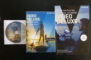MAGIX Video deluxe 2021 Plus mit BuchFilme machen wie die Profis