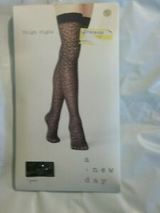 A New  Day Thigh Highs NWT Free ship (//