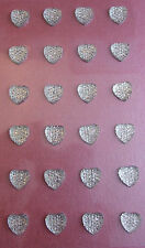 Heart Sparkly Gems Adhesive/ medium /cards scrapbooking/Floristry/Glassware