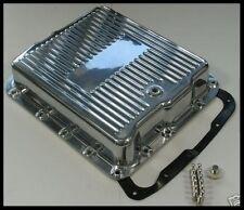 GM 700R4 POLISHED ALUMINUM TRANSMISSION PAN # 8493