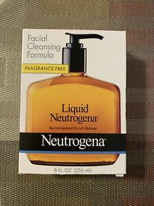 Liquid Neutrogena Transparent FACIAL CLEANSER 8 oz