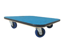 More details for 59x59 carpet-topped furniture skate dolly moving trolley 600kg lc 10cm wheels