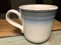 Vintage Coffee Mug by Noritake Stoneware Sorcerer Blue 8620