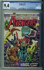 The Avengers #127 - Marvel 1974 - CGC 9.4 White Pages 1st Print Fantastic Four